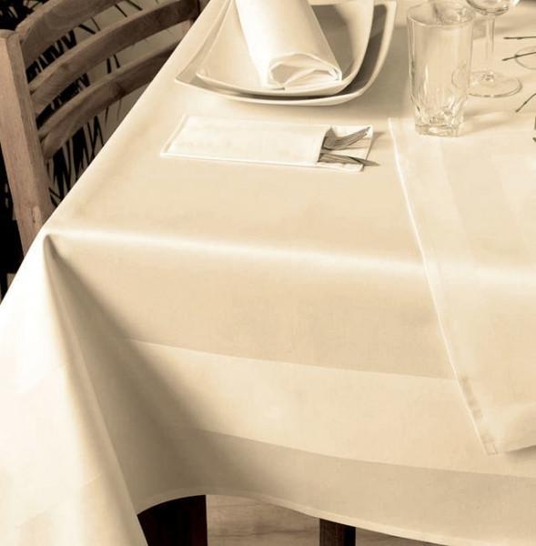 gastronomie tischdecke sekt mit atlaskante 130x280 libusch. Black Bedroom Furniture Sets. Home Design Ideas